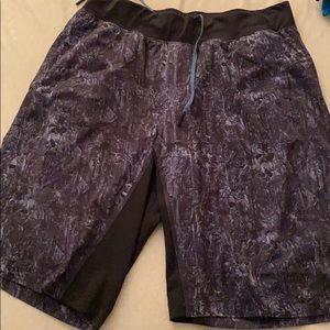 L. Lululemon training shorts. 9inch